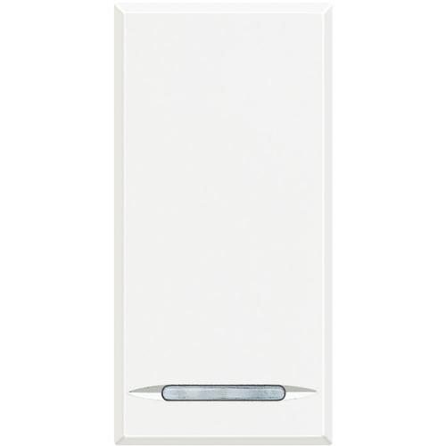 BTICINO - HD4051 Ключ обикновен 1 модул бяло
