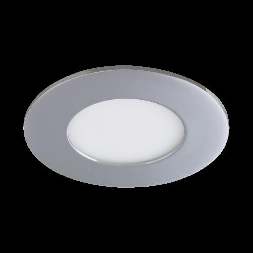 RABALUX - LED Панел влагозащитен кръгъл Lois 5584 3W 4000K хром