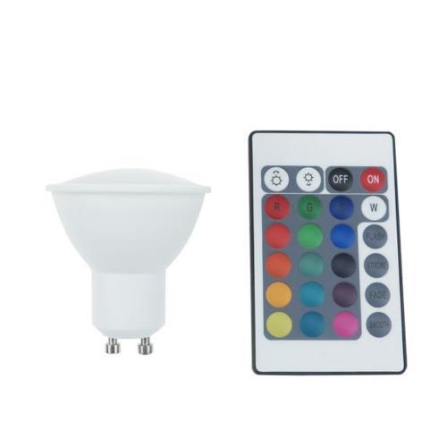 RABALUX - 1506 LED крушка GU10 3W  2700K+RGB дистанционно управление
