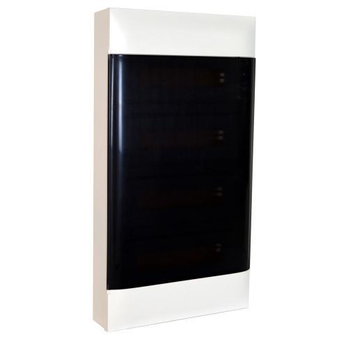 LEGRAND - Табло за открит монтаж 4x18 мод. Practibox S с прозрачна врата и Н и РЕ клеми 137219