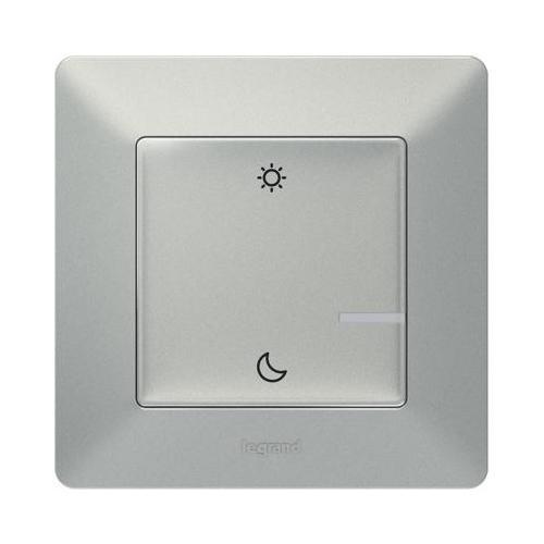 LEGRAND - Сценариен ключ безжичен събуждане/заспиване Netatmo 752389 Valena Life алуминий