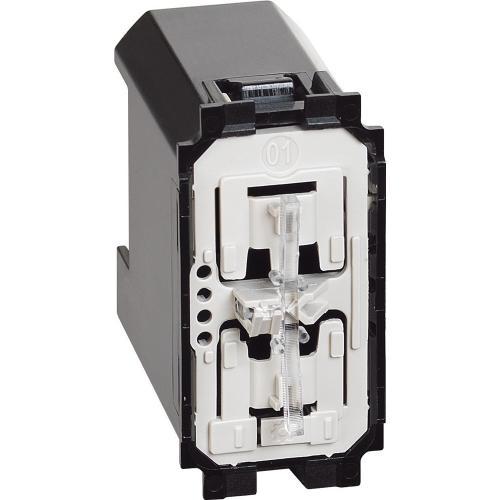 BTICINO - Бутонен димер Smart 150W  LED 230V 1 мод.изисква неутрала Living Now Bticino с Netatmo K4411C