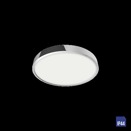 LUXERA - LED панел 6W влагозащитен IP44 външен монтаж LENYS 49024 хром