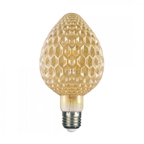ACA LIGHTING - LED крушка димираща кехлибар FILAMENT E27 6W 2700K 680lm  MAVA6WWDIMAM