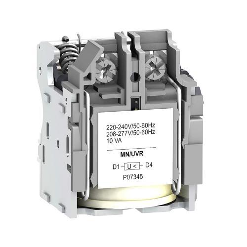 SCHNEIDER ELECTRIC - Минимално напреженов изключвател  ComPact  NSX MN 220...240Vac LV429407