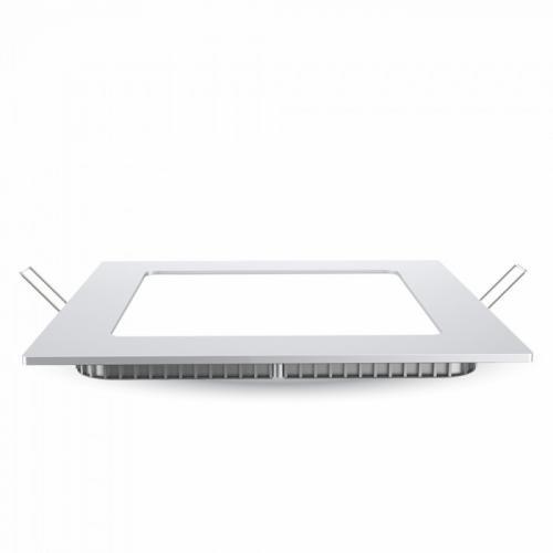 V-TAC PRO - 18W LED Панел Premium SAMSUNG Чип Квадрат 4000K SKU: 716, 3000К-715, 6400К-717 VT-618SQ