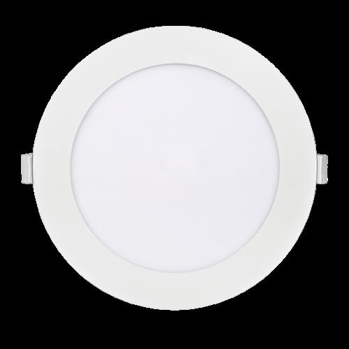 PANASONIC - 15W LED панел за вграждане, кръг, 3000K ∅185 LPLA11W153