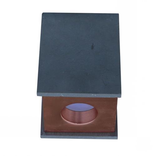 V-TAC - GU10 Гипсова Отливка Външен Монтаж Розово Златно Дъно SKU: 3141 VT-860