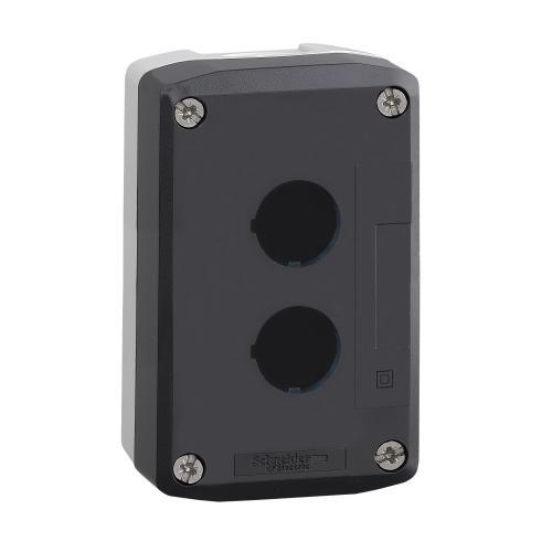 SCHNEIDER ELECTRIC - Бутониера празна с 2 отвора Ø22mm Harmony XALD02