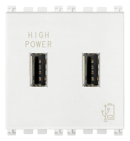 VIMAR - 19293.B - Arke USB захранване бяло