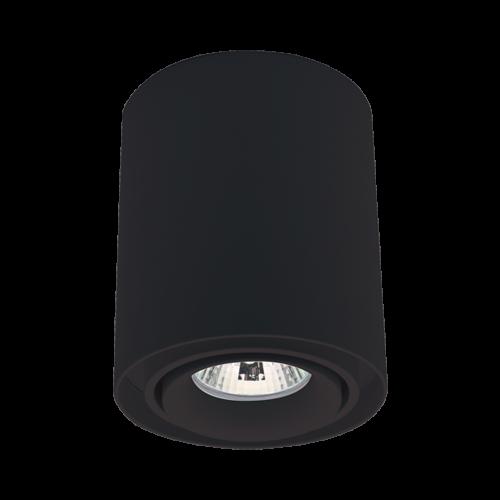 ELMARK - DL-044 Лунa за външен монтаж черна кръгла 92DL044R1/BL