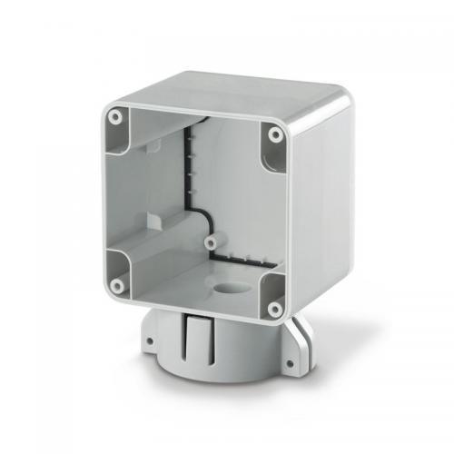 SCAME - Единична кутия за монтаж върху стълб M95 (95x95), Protecta IP66 137.131