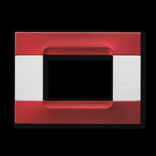 SIMON URMET - 10903.B.88 Red Metallic Polychrome Metal Finishes Kadra