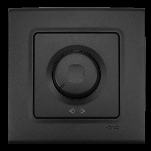 VIKO - Ротативен димер 600W LINNERA LIFE черно  90404020-BG