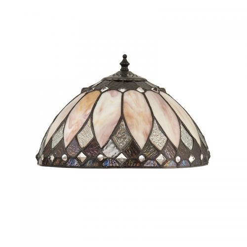 INTERIORS 1900 - Абажур за настолна лампа BROOKLYN  67933 E14, 2X40W