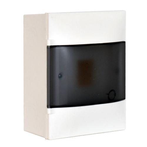 LEGRAND - Табло за открит монтаж 4 мод. Practibox S с прозрачна врата и Н и РЕ клеми 134214