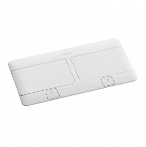 LEGRAND - 54033 Подова кутия 2х4 модула полирано бяло