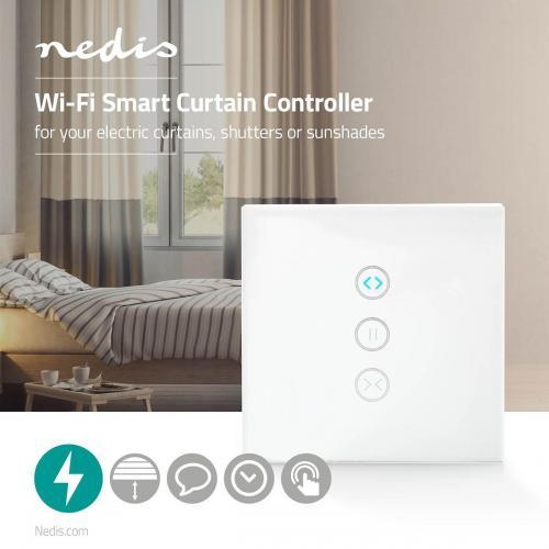 NEDIS - WiFi Smart ключ за контрол на електрически завеси, WIFIWC10WT, NEDIS