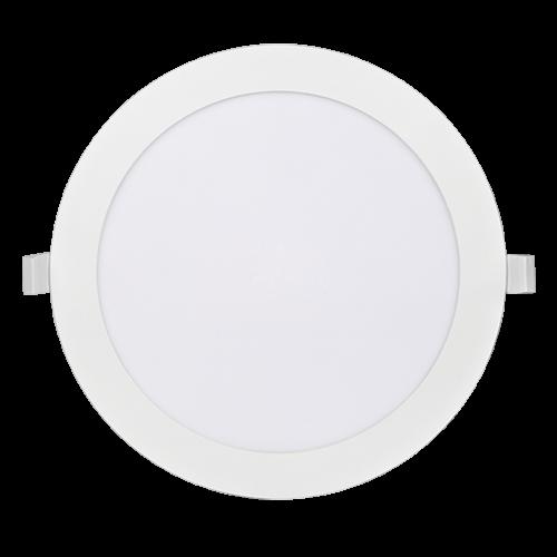 PANASONIC - 18W LED панел за вграждане, кръг, 3000K ∅22.5 LPLA11W183