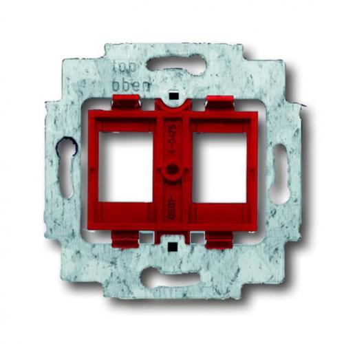 ABB - Монтажна основа за розетка 2хRJ45 ABB Basic55 2CKA001753A8055
