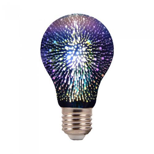 V-TAC - LED крушка A60 E27 3W 3D filament 3000K SKU 2704