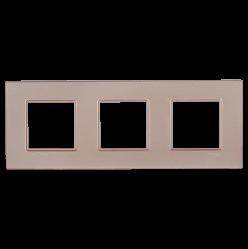 SCHNEIDER ELECTRIC - MGU4.706.37декоративна рамка тройна сьомга Unica Quadro
