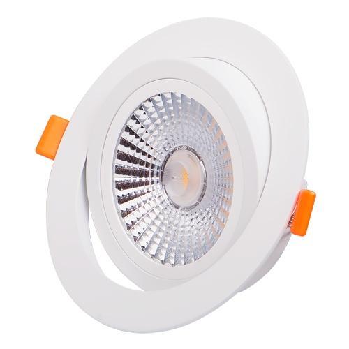 ULTRALUX - LLVP1842 LED луна за вграждане подвижна 18W, 4200K, 220V, неутрална светлина, COB
