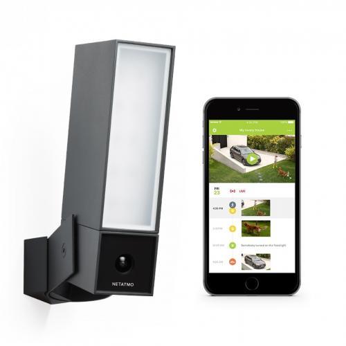 NETATMO - Външна Smart камера с включен сензор за движение и с осветление Netatmo Pro NOC01-EU