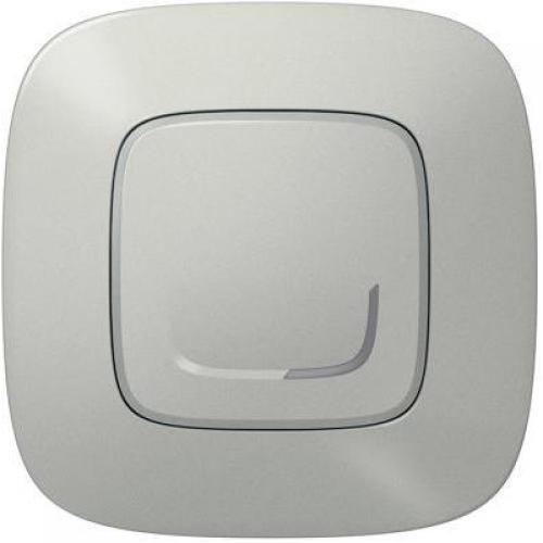 LEGRAND - Свързан ключ БЕЗжичен Smart Valena Allure Алуминий с рамка Legrand Netatmo 752785
