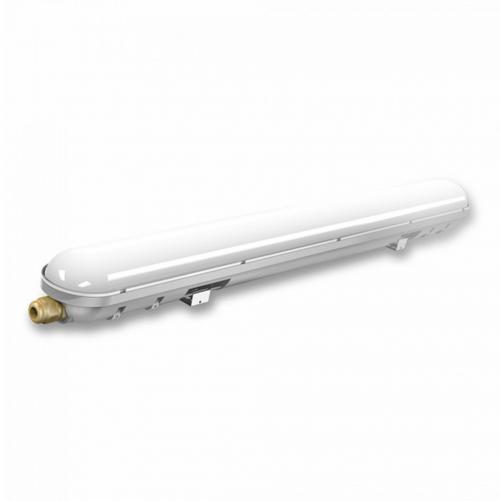 V-TAC - LED Влагозащитено тяло PC/PC 1200mm 36W Неутрално Бяла Светлина SKU: 6200 VT-1248 , 6400К 6201