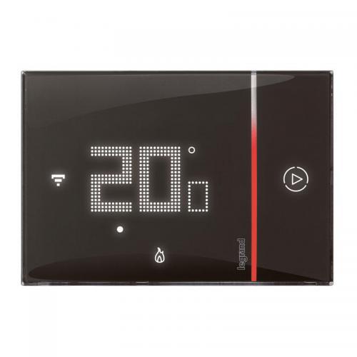 LEGRAND - 49039 Терморегулатор Legrand Смарт , Wi - Fi , програмируем, 3.6KW черен