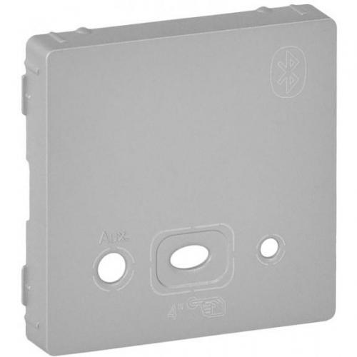 LEGRAND - Лицев панел за Bluetooth модул цвят Алуминий Valena Life 755432