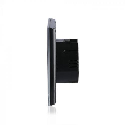 V-TAC - Единичен Ключ Touch Черен SKU: 8385 VT-511