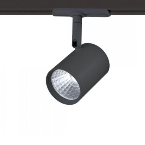 ACA LIGHTING - ZUNO1230B25 BLACK LED TRACK LIGHT 12W 3000K 2WIRES 24 ° 1730lm 230V Ra80