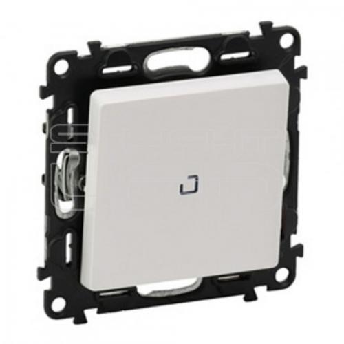 LEGRAND - Еднополюсен ключ с LED индикатор 0.15mA Valena Life 752110 бяло