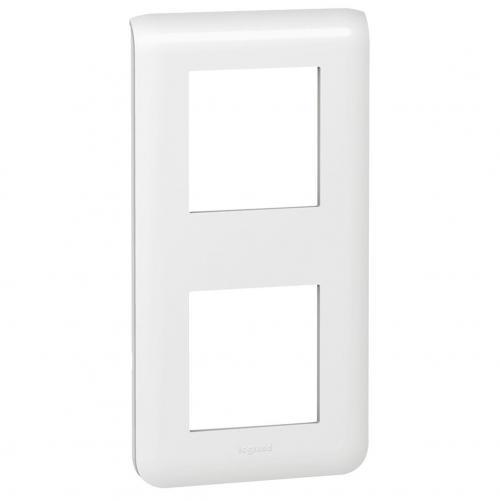 LEGRAND - 78822 Четиримодулна вертикална рамка 2х2 Mosaic бяло
