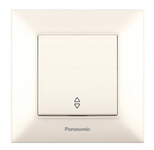 PANASONIC - Девиаторен ключ Panasonic Arkedia Slim крем WNTC0003-2BG