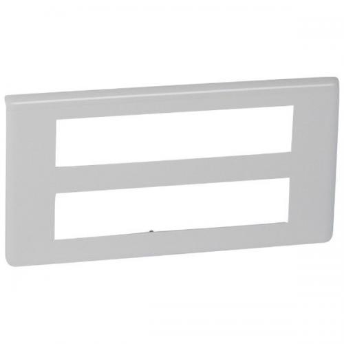 LEGRAND - 78828 Лицева рамка 2х10 мод. цвят бял Mosaic