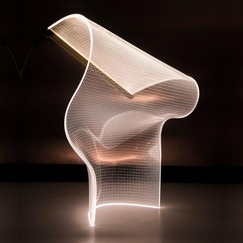 LUXERA - 26103 Настолна лампа SAIL LUXERA