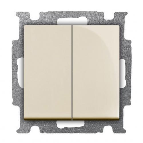 ABB - Сериен девиаторен ключ ABB Basic55 крем 2CKA001012A2151