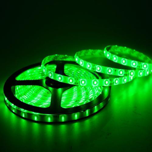ULTRALUX - LSNW283560G LED лента SMD2835, 4.8W/m зелена, 12V DC,60 LEDs/м, 5m, неводоустойчива