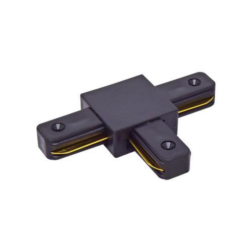 VIVALUX - Т-конектор за релса за релсови осветителни системи LINK-T - черен VIV004077