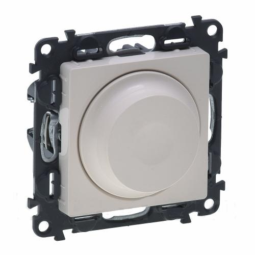 LEGRAND - 764688 Димер ротативен универсален крем 5-75/300W за всички товари + LED