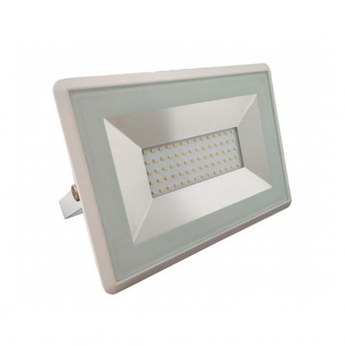 V-TAC - 50W LED Прожектор E-Series Бяло Тяло 3000K SKU: 5961 VT-4051, 4000K-5962, 6000K-5963