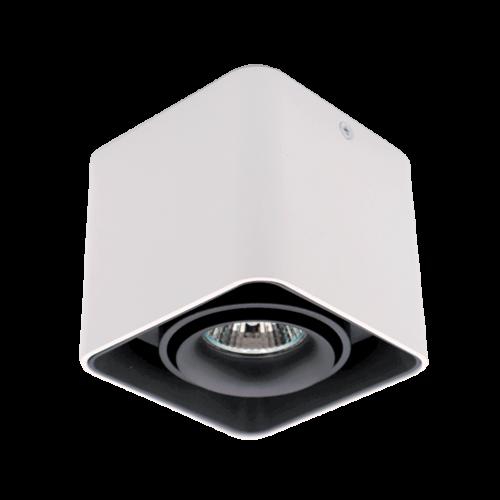 ELMARK - DL-044 Лунa за външен монтаж черна/бяла квадратна 92DL044S1/BLWH