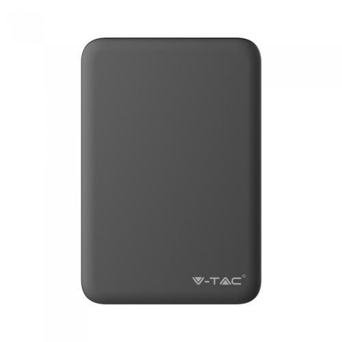 V-TAC - Външна батерия 5000 mA/h, черна, SKU: 8193 VT-3503