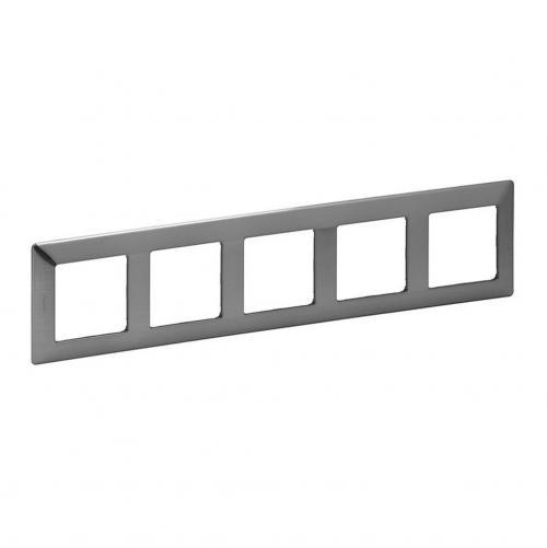 LEGRAND - Петорна рамка Valena Life 754155 инокс