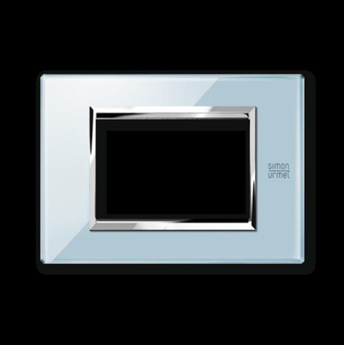 SIMON URMET - 13003.AZ Blue Sky Expi тримодулна рамка