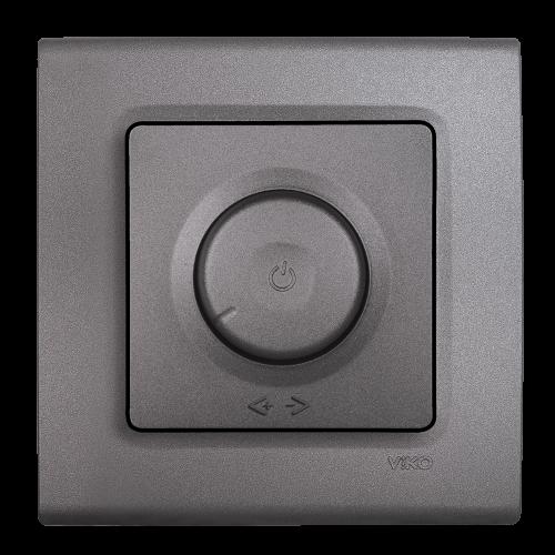 VIKO - Ротативен LED Димер RC 6-100W LINNERA LIFE гранитено сиво 90402094-BG