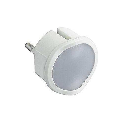 LEGRAND - 50678 Лампа за контакт 0,06W LED бяла 220V с димиране, батерия 2ч., топла/студена светлина